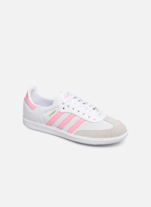 Sneakers adidas originals SAMBA OG J Wit detail