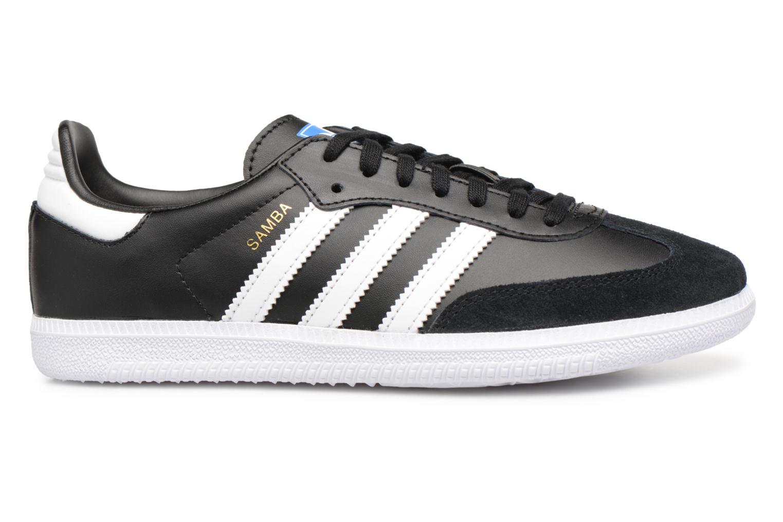 Baskets Adidas Originals SAMBA OG J Noir vue derrière