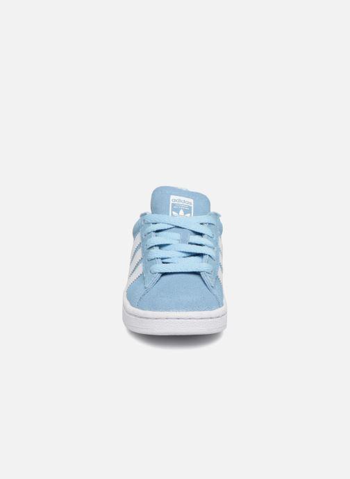 Baskets Adidas Originals CAMPUS I Bleu vue portées chaussures