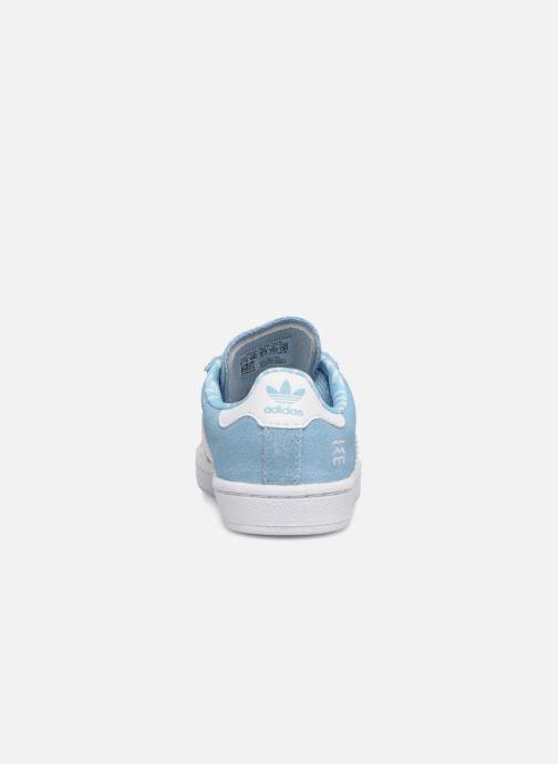 Baskets adidas originals CAMPUS I Bleu vue droite