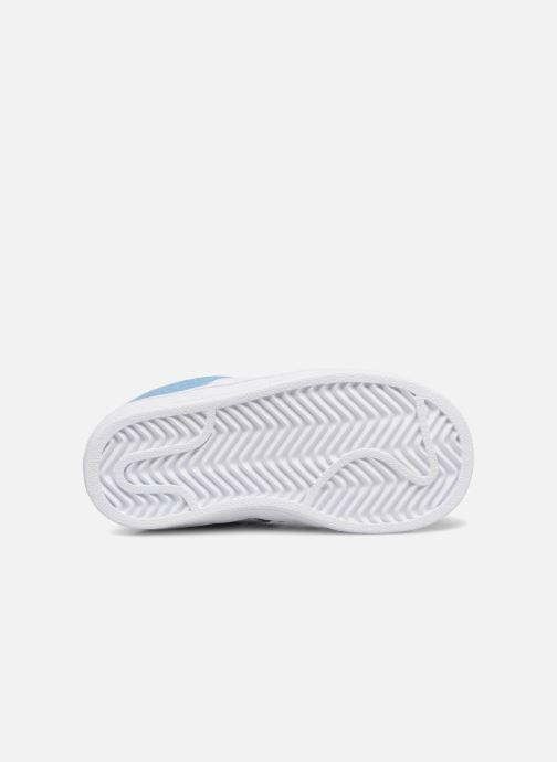Baskets Adidas Originals CAMPUS I Bleu vue haut