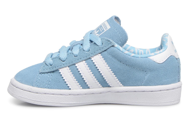 Baskets Adidas Originals CAMPUS I Bleu vue face