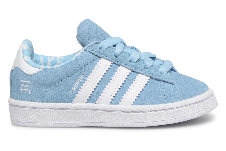 Baskets Adidas Originals CAMPUS I Bleu vue derrière