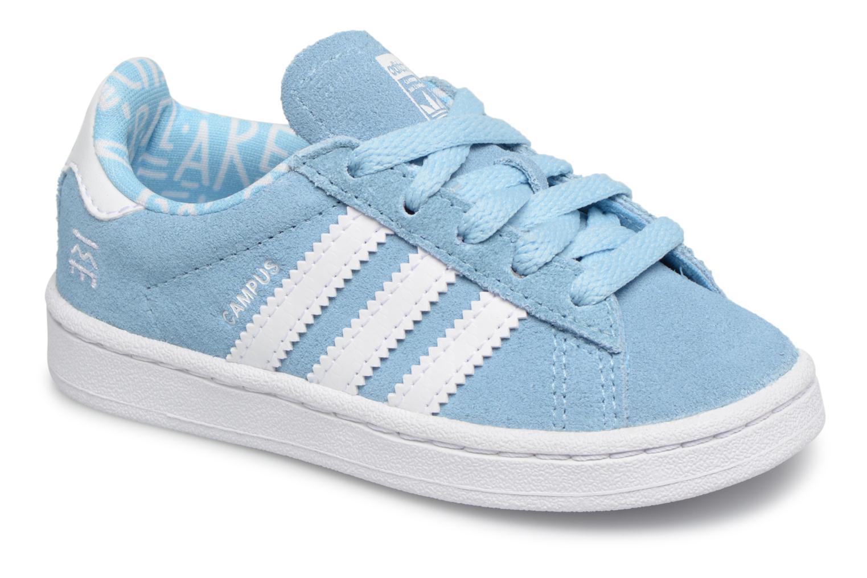 Baskets Adidas Originals CAMPUS I Bleu vue détail/paire
