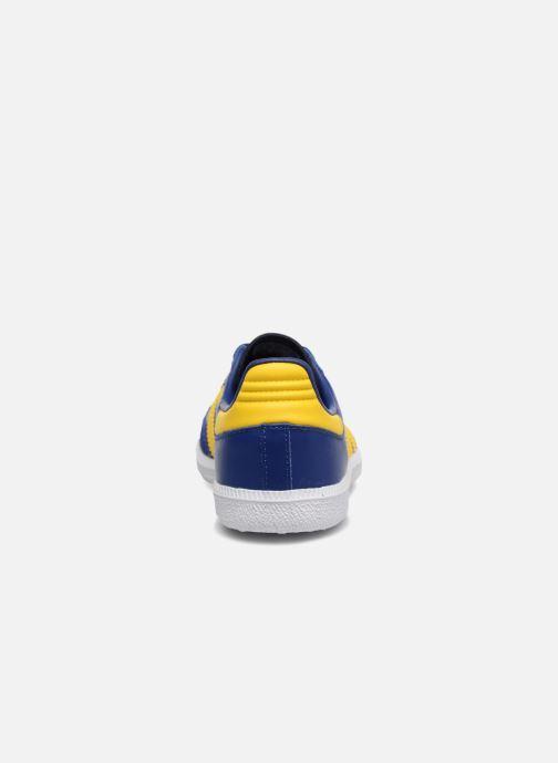 Baskets Adidas Originals SAMBA OG C Bleu vue droite