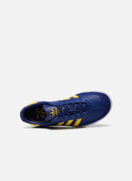 Baskets Adidas Originals SAMBA OG C Bleu vue gauche
