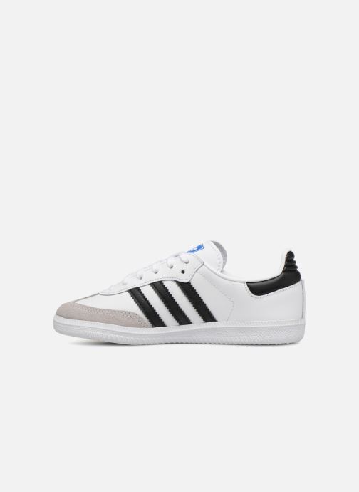 Baskets adidas originals SAMBA OG C Blanc vue face