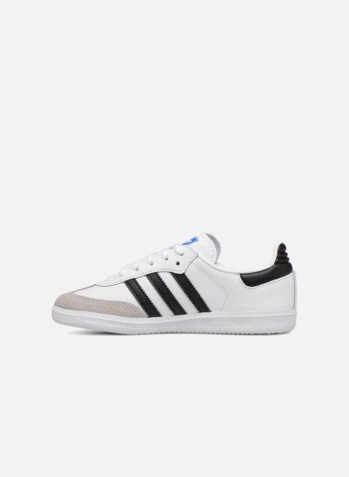 Baskets Adidas Originals SAMBA OG C Blanc vue face