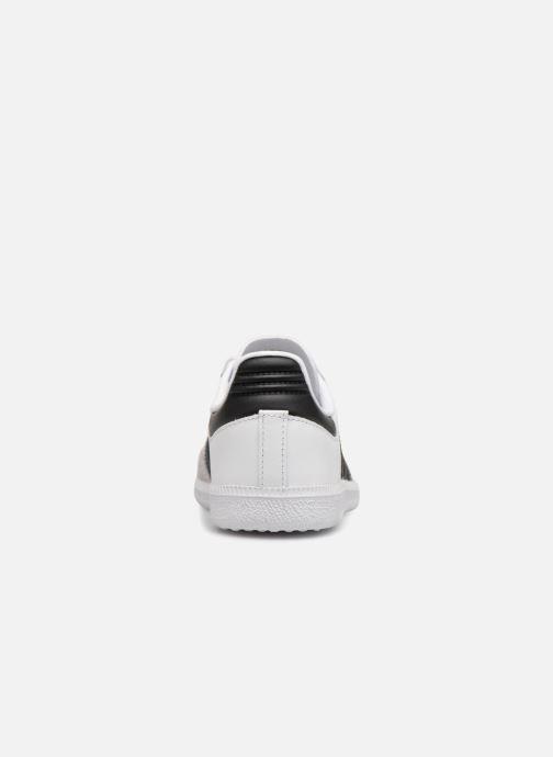 Sneakers adidas originals SAMBA OG C Wit rechts