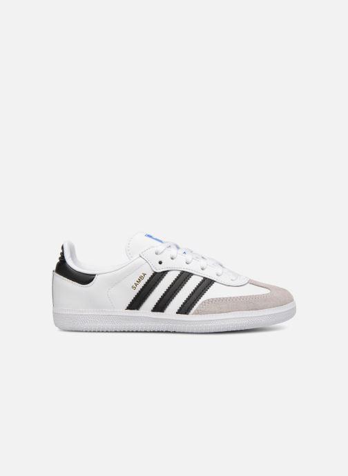 Baskets Adidas Originals SAMBA OG C Blanc vue derrière