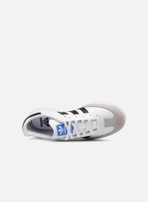 Baskets adidas originals SAMBA OG C Blanc vue gauche