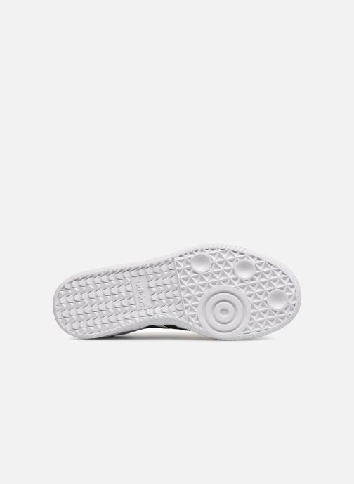 Baskets Adidas Originals SAMBA OG C Blanc vue haut