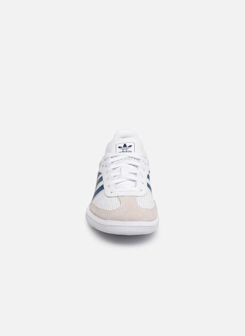Sneaker adidas originals SAMBA OG C weiß schuhe getragen