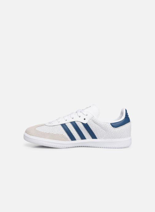 Sneaker adidas originals SAMBA OG C weiß ansicht von vorne