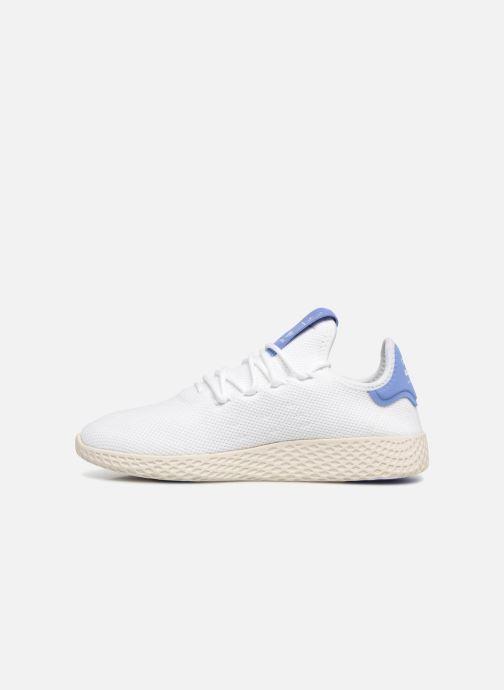 Baskets adidas originals PW TENNIS HU J 2 Blanc vue face