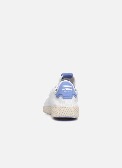 Baskets adidas originals PW TENNIS HU J 2 Blanc vue droite
