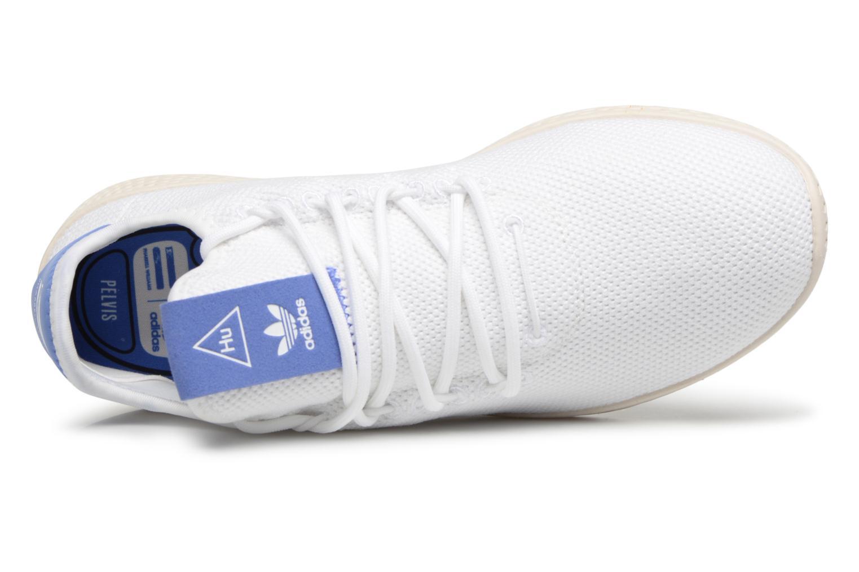 Baskets Adidas Originals PW TENNIS HU J 2 Blanc vue gauche