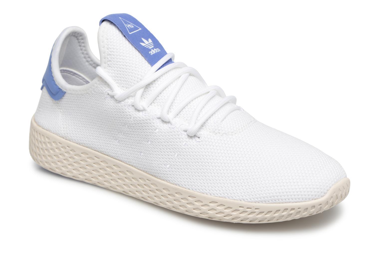 Baskets Adidas Originals PW TENNIS HU J 2 Blanc vue détail/paire