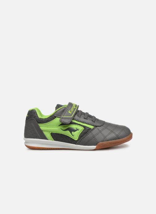 Trainers Kangaroos Power Comb EV Blue back view