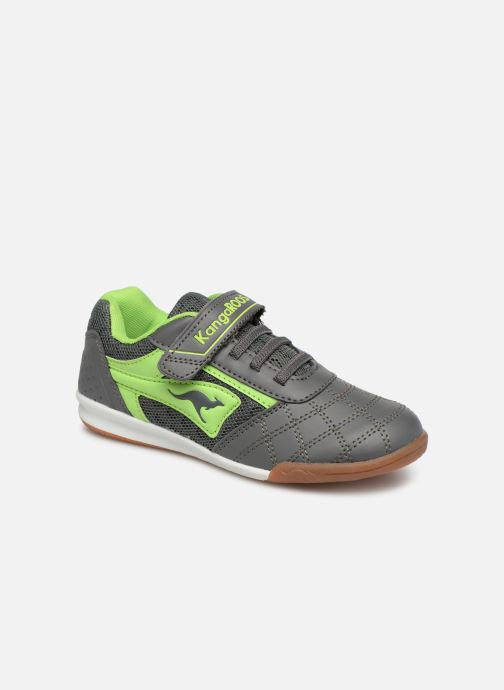 Trainers Kangaroos Power Comb EV Blue detailed view/ Pair view