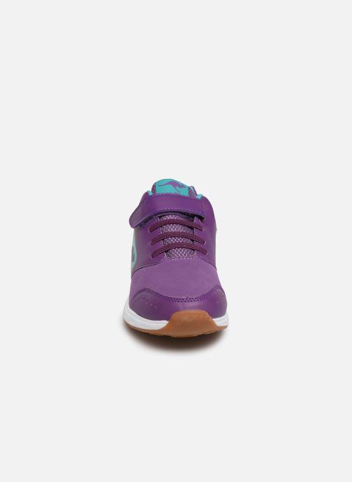 Sneaker Kangaroos Rodo EV II lila schuhe getragen