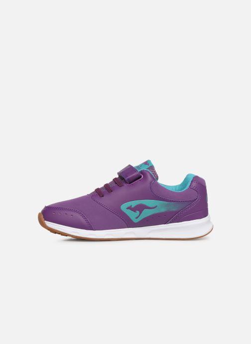 Sneaker Kangaroos Rodo EV II lila ansicht von vorne