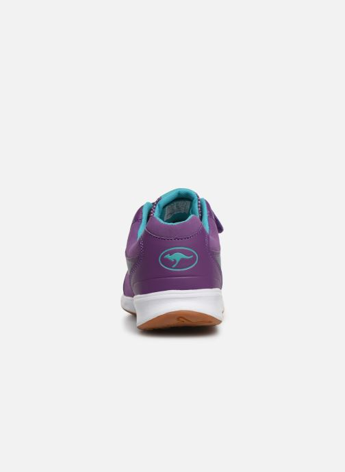 Sneaker Kangaroos Rodo EV II lila ansicht von rechts