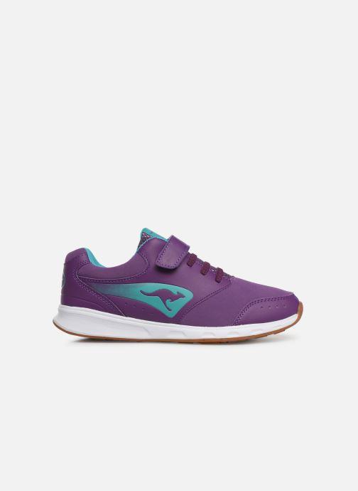 Sneaker Kangaroos Rodo EV II lila ansicht von hinten