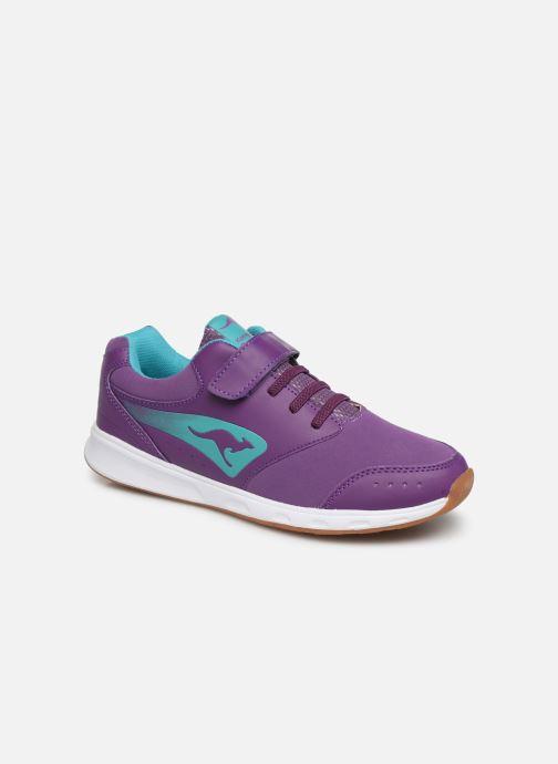 Sneakers Kangaroos Rodo EV II Paars detail