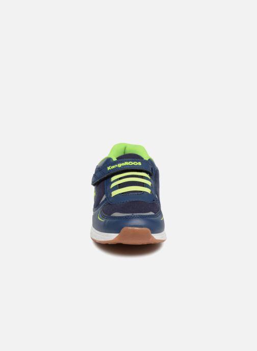Baskets Kangaroos Roji II EV Bleu vue portées chaussures
