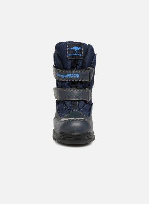 Chaussures de sport Kangaroos Lenoxx II Bleu vue portées chaussures