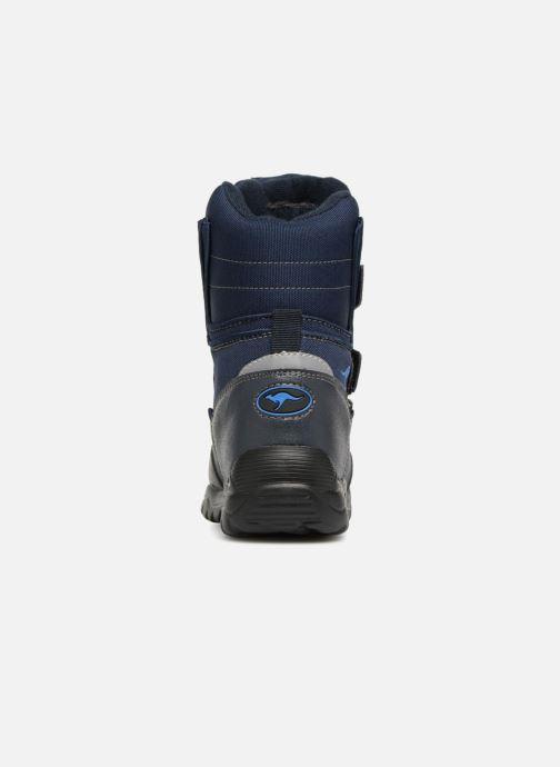Chaussures de sport Kangaroos Lenoxx II Bleu vue droite