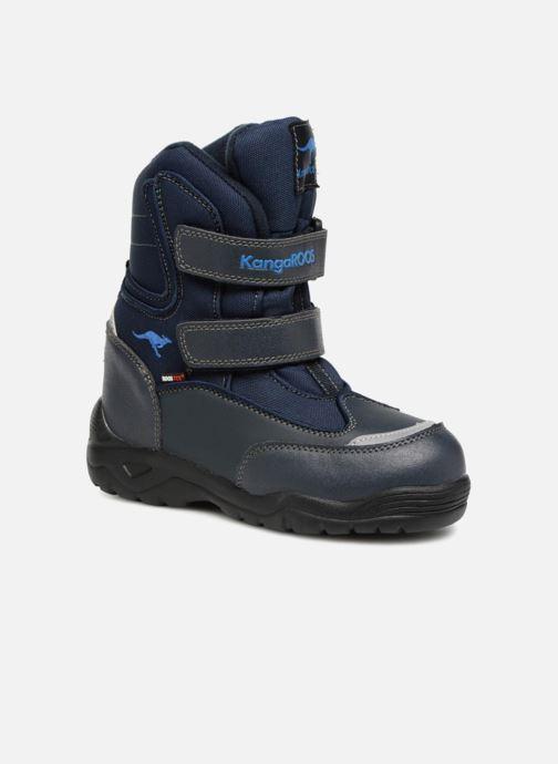 Chaussures de sport Kangaroos Lenoxx II Bleu vue détail/paire