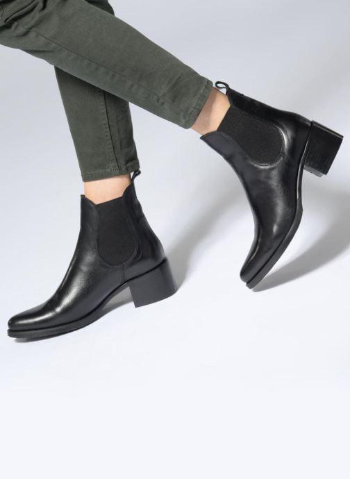 Bottines et boots PintoDiBlu 79260 Noir vue bas / vue portée sac