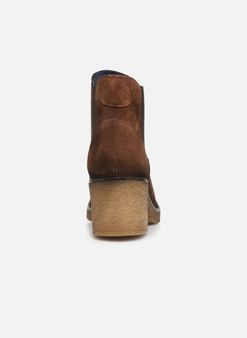 Bottines et boots PintoDiBlu 73132 Marron vue droite