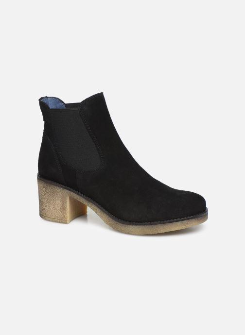 Boots en enkellaarsjes PintoDiBlu 73132 Zwart detail