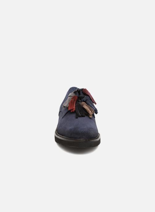 Chaussures à lacets PintoDiBlu 20467 Bleu vue portées chaussures