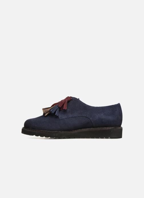 Chaussures à lacets PintoDiBlu 20467 Bleu vue face