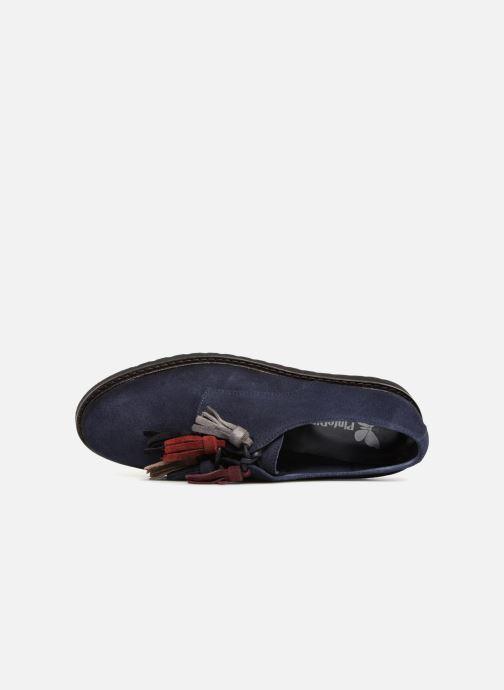 Chaussures à lacets PintoDiBlu 20467 Bleu vue gauche