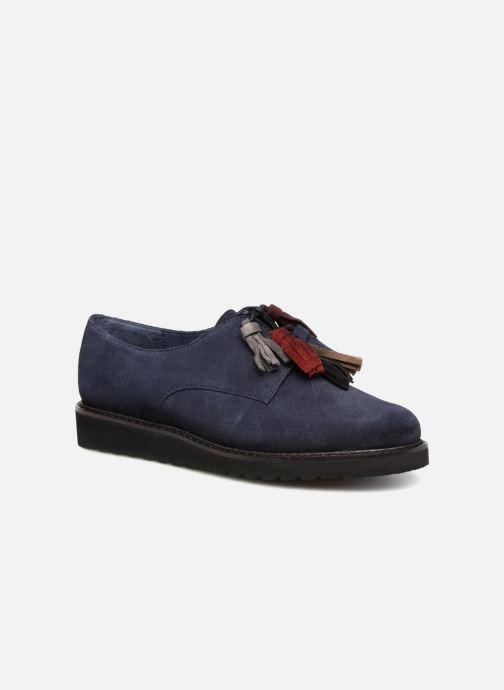 Chaussures à lacets PintoDiBlu 20467 Bleu vue détail/paire