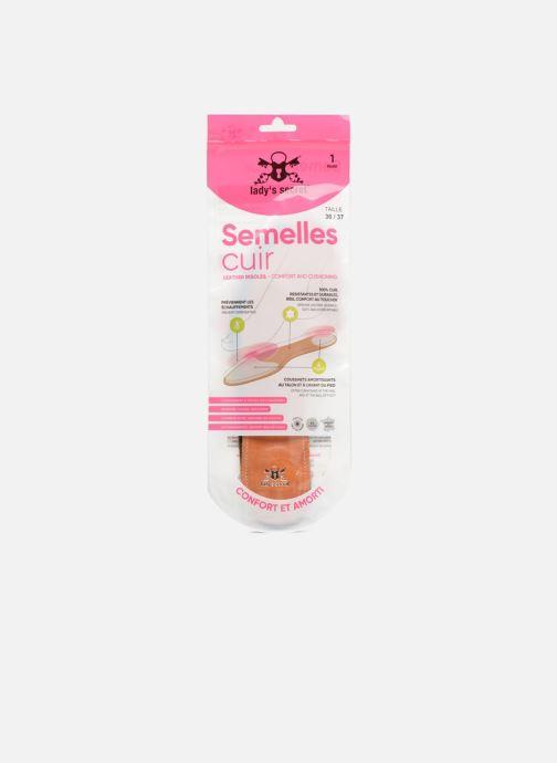 Semelles Lady's Secret Semelles spéciales talons hauts Marron vue détail/paire