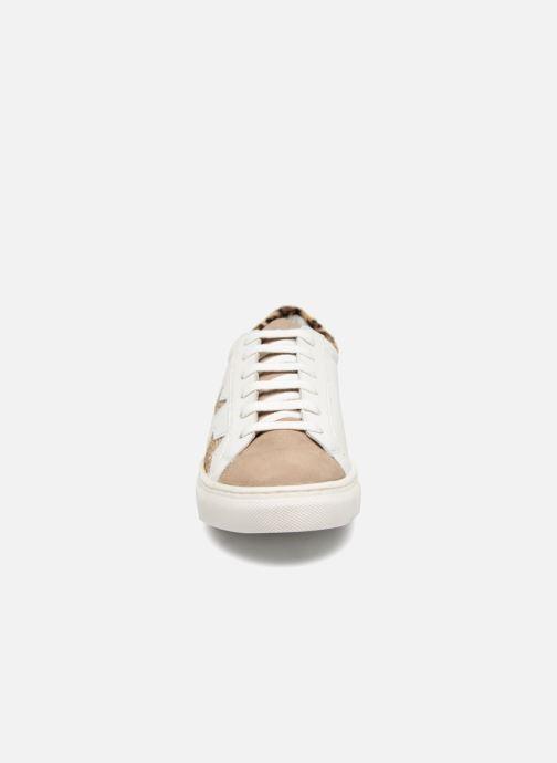 Baskets Les Tropéziennes par M Belarbi NICKY Blanc vue portées chaussures