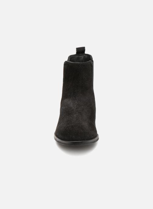 Bottines et boots Les Tropéziennes par M Belarbi MERINGUE Noir vue portées chaussures