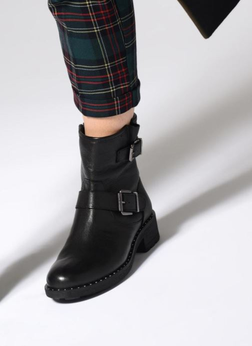 Bottines et boots Les Tropéziennes par M Belarbi LALIE Noir vue bas / vue portée sac