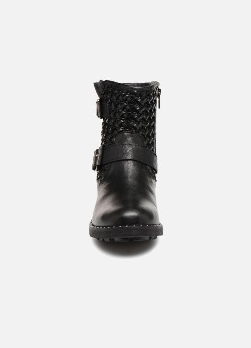 Bottines et boots Les Tropéziennes par M Belarbi LORALINE Noir vue portées chaussures