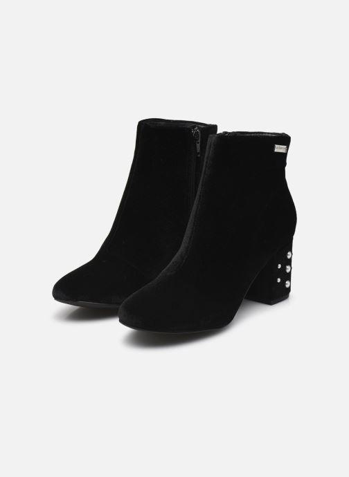 Bottines et boots Les Tropéziennes par M Belarbi CHANNON Noir vue bas / vue portée sac