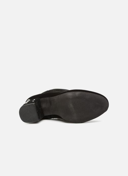 Bottines et boots Les Tropéziennes par M Belarbi CHANNON Noir vue haut