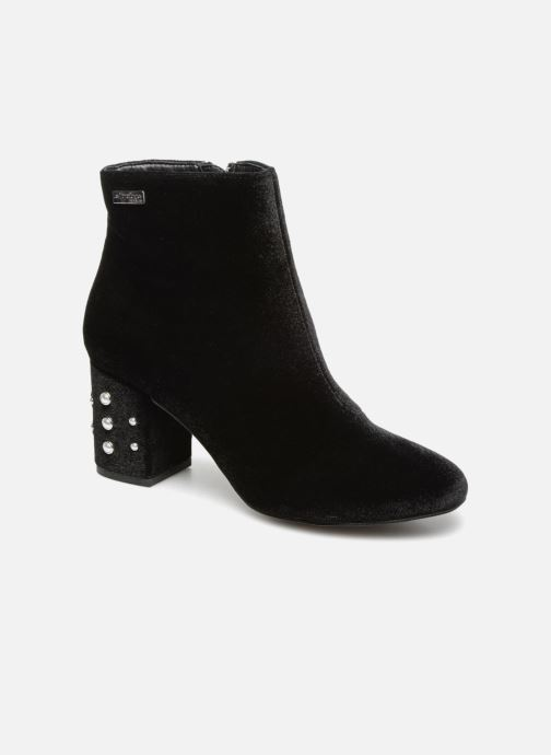 Bottines et boots Les Tropéziennes par M Belarbi CHANNON Noir vue détail/paire
