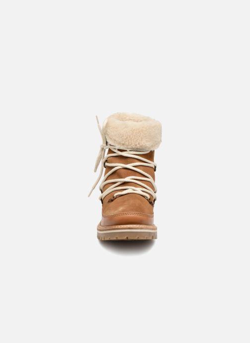 Bottines et boots Les Tropéziennes par M Belarbi MELISSA Marron vue portées chaussures