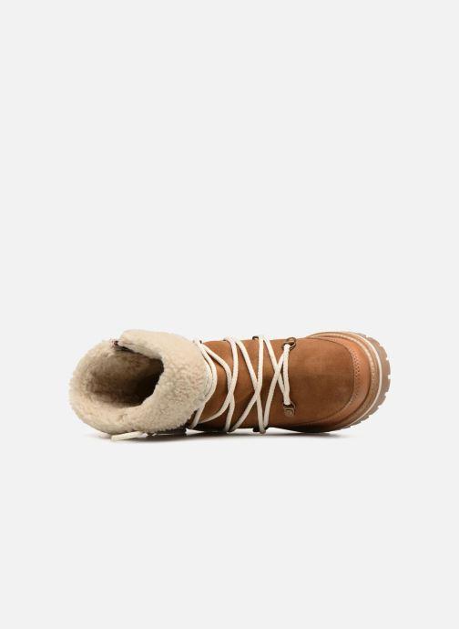 Bottines et boots Les Tropéziennes par M Belarbi MELISSA Marron vue gauche